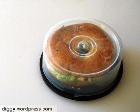 CD Spindle Bagel Carrier